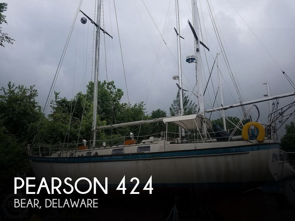 1980 Pearson boat for sale, model of the boat is 424 & Image # 1 of 40
