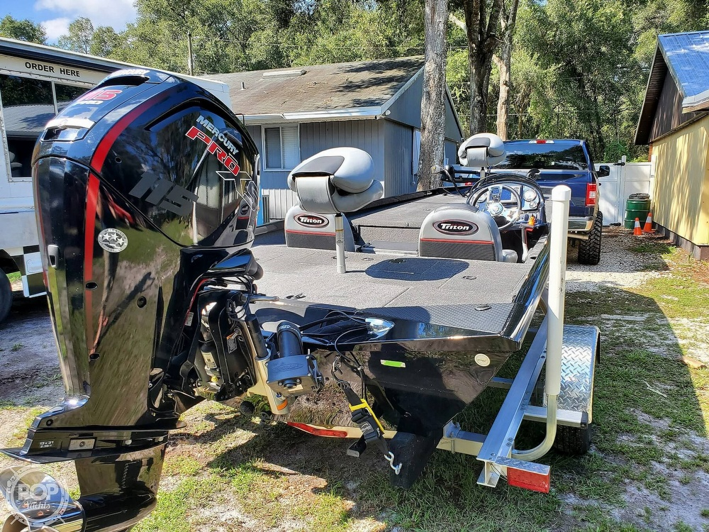 2017 Triton boat for sale, model of the boat is 18TX & Image # 19 of 40