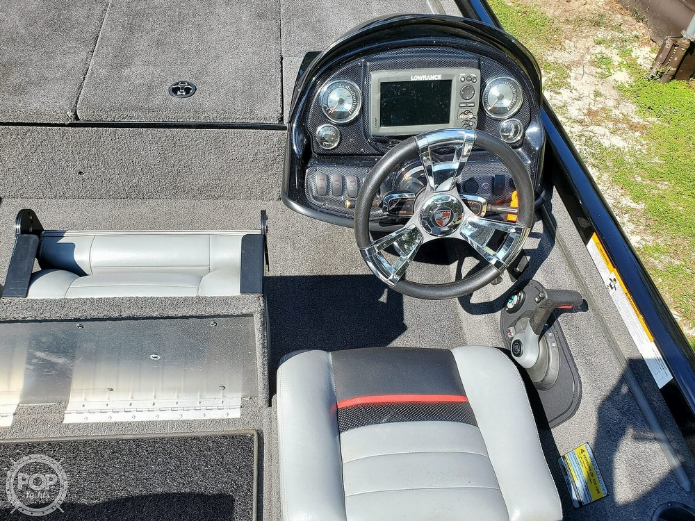 2017 Triton boat for sale, model of the boat is 18TX & Image # 31 of 40