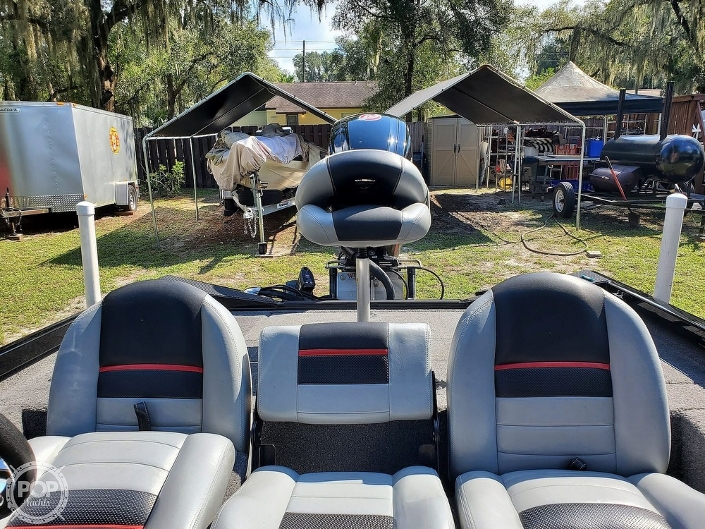 2017 Triton boat for sale, model of the boat is 18TX & Image # 34 of 40