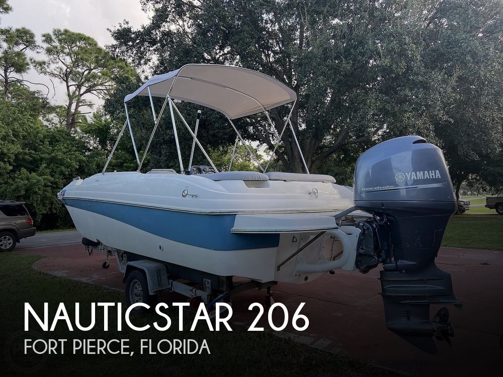 2008 Nautic Star boat for sale, model of the boat is 206 & Image # 1 of 40