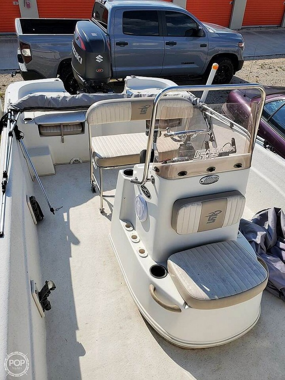 2016 Carolina Skiff boat for sale, model of the boat is 218 & Image # 10 of 19