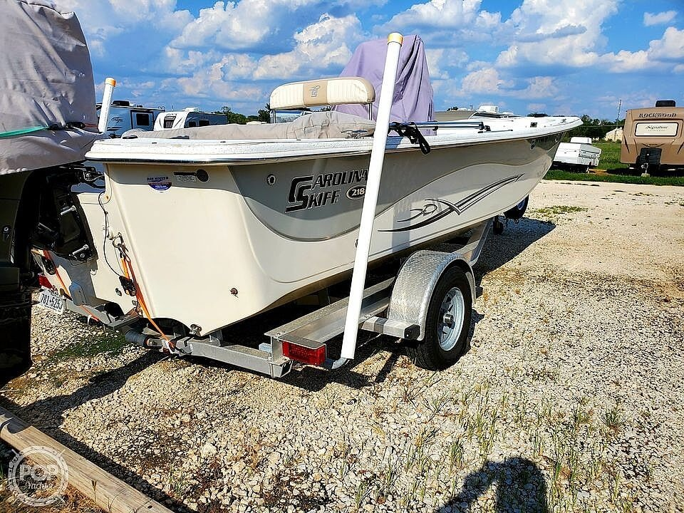 2016 Carolina Skiff boat for sale, model of the boat is 218 & Image # 12 of 19