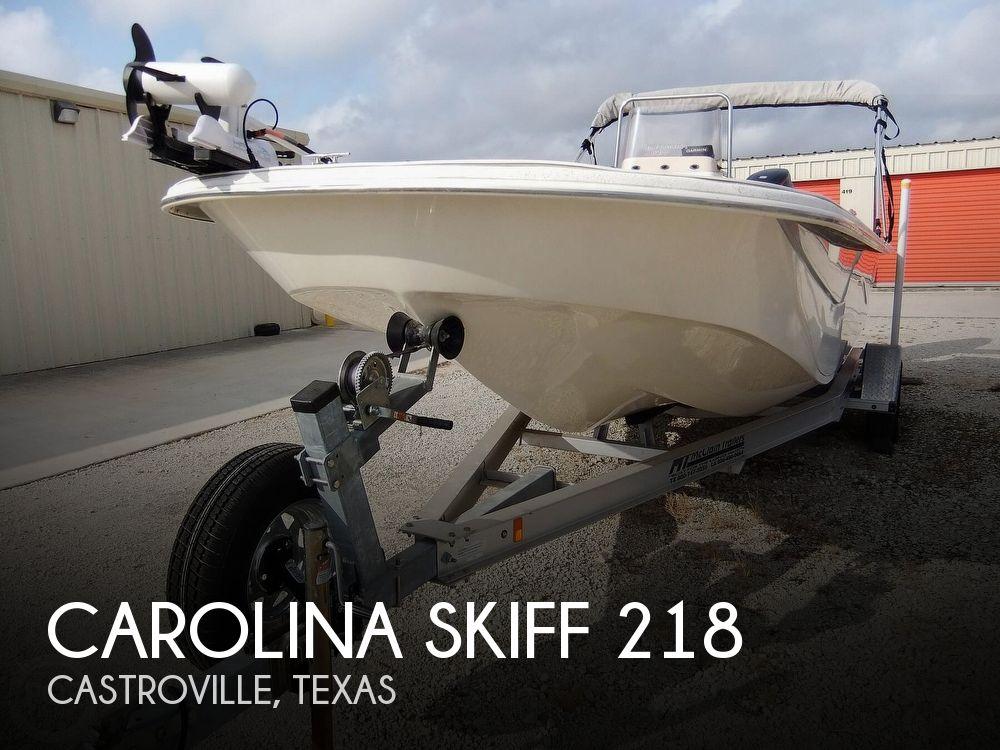 2016 Carolina Skiff boat for sale, model of the boat is 218 DLV & Image # 1 of 40