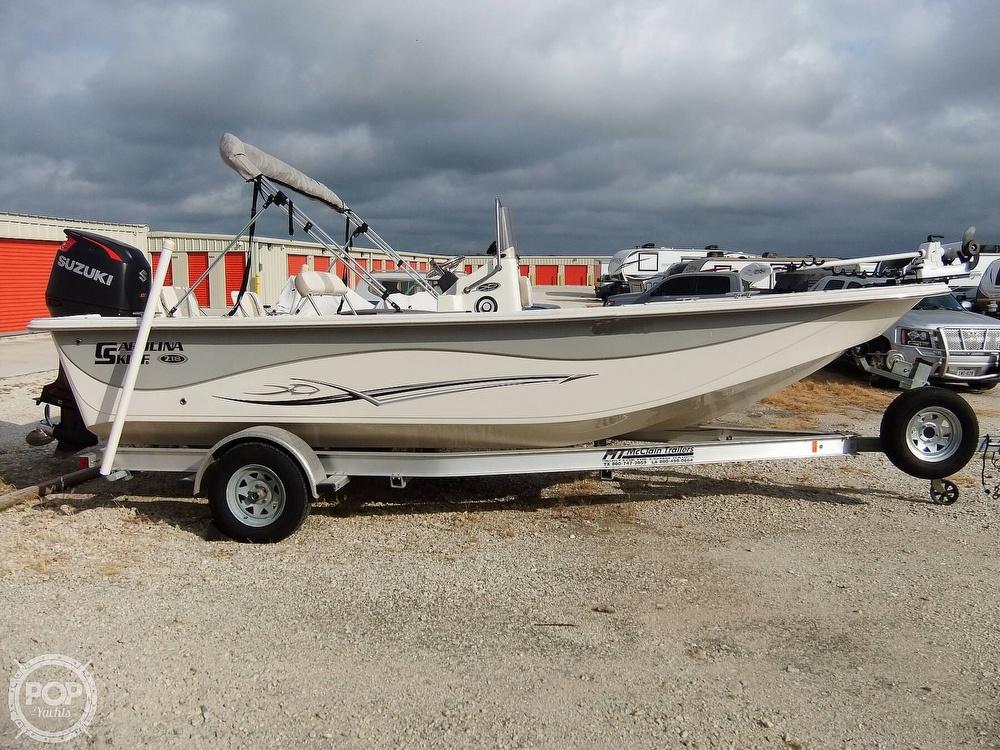 2016 Carolina Skiff boat for sale, model of the boat is 218 DLV & Image # 16 of 40