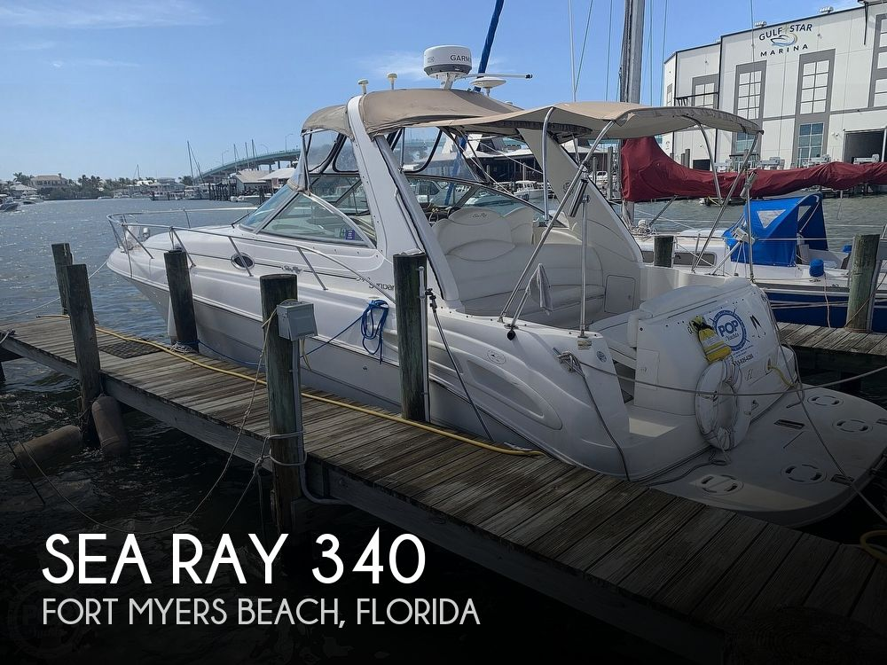 2001 Sea Ray boat for sale, model of the boat is 340 Sundancer & Image # 1 of 40