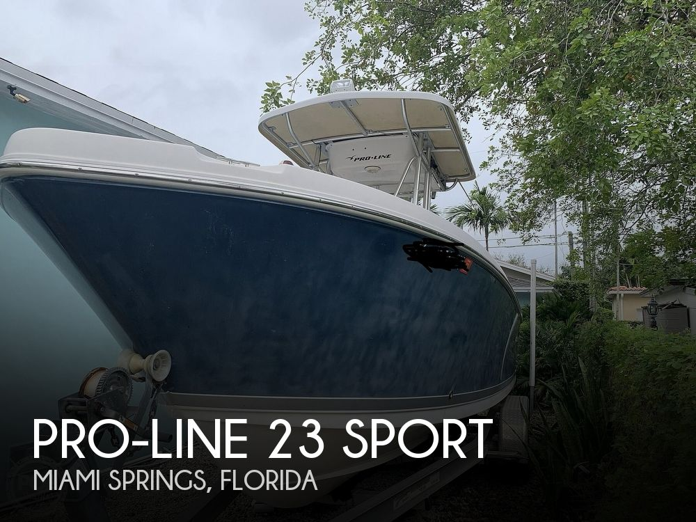 2008 Pro-Line boat for sale, model of the boat is 23 Sport & Image # 1 of 40