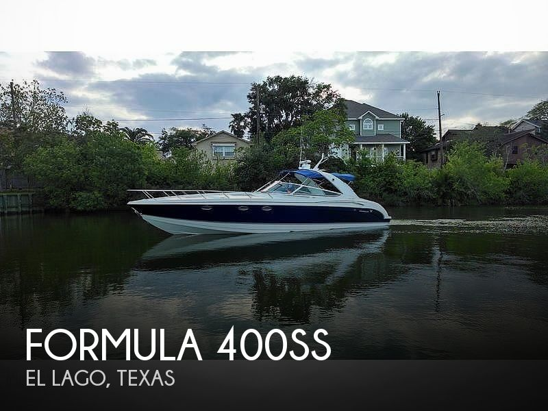 Used Boats For Sale in Beaumont, Texas by owner | 2005 Formula 400ss