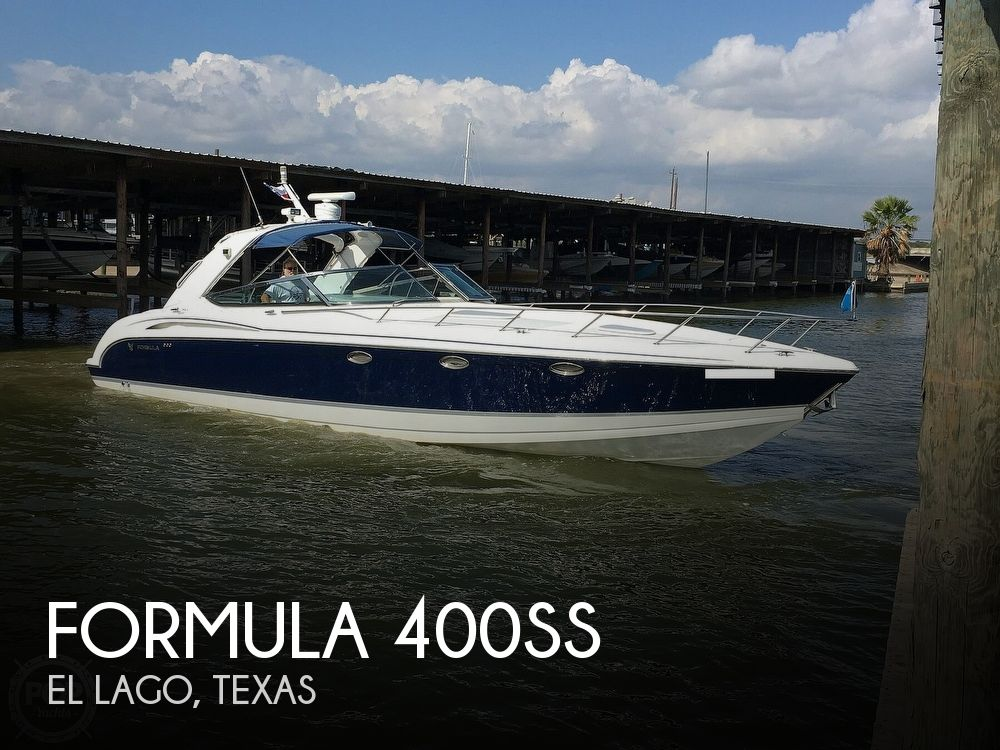2005 Formula boat for sale, model of the boat is 400ss & Image # 1 of 40