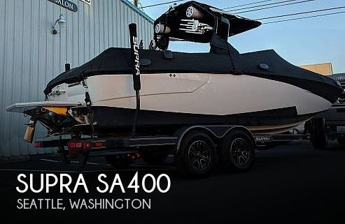 Used SUPRA Boats For Sale by owner | 2017 Supra Sa400