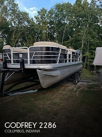 Used Boats For Sale in Indianapolis, Indiana by owner | 2020 Godfrey Pontoon Sweetwater 2286 SFL