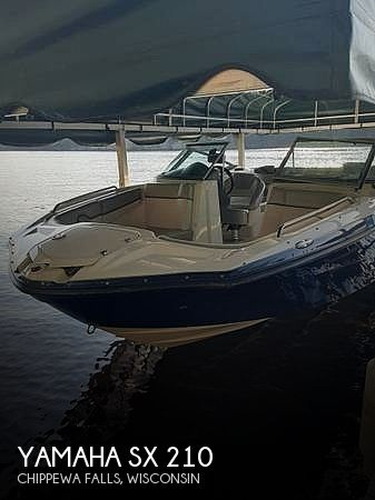 2012 Yamaha boat for sale, model of the boat is SX 210 & Image # 1 of 11