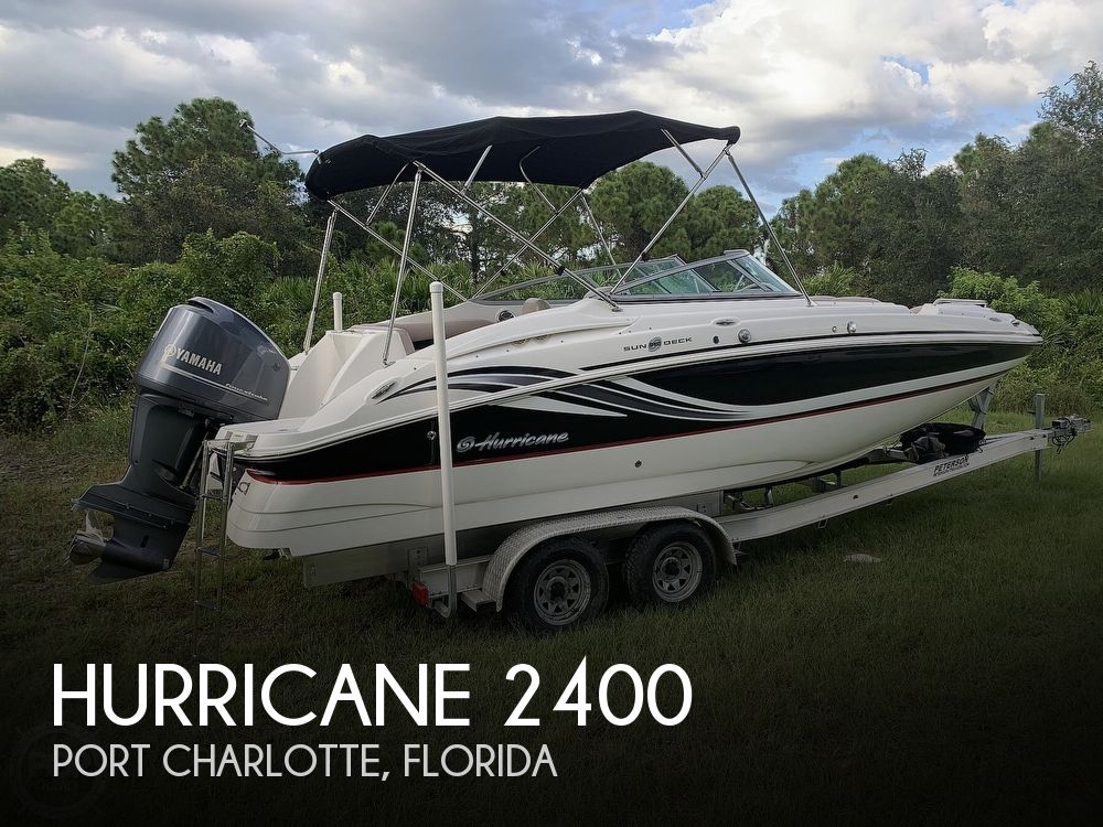 2014 Hurricane boat for sale, model of the boat is SunDeck 2400 & Image # 1 of 40