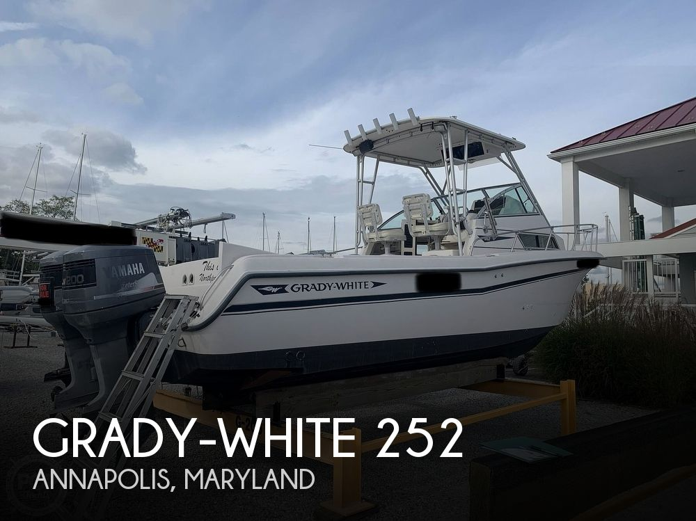 1994 Grady-White boat for sale, model of the boat is 252 Sailfish & Image # 1 of 40