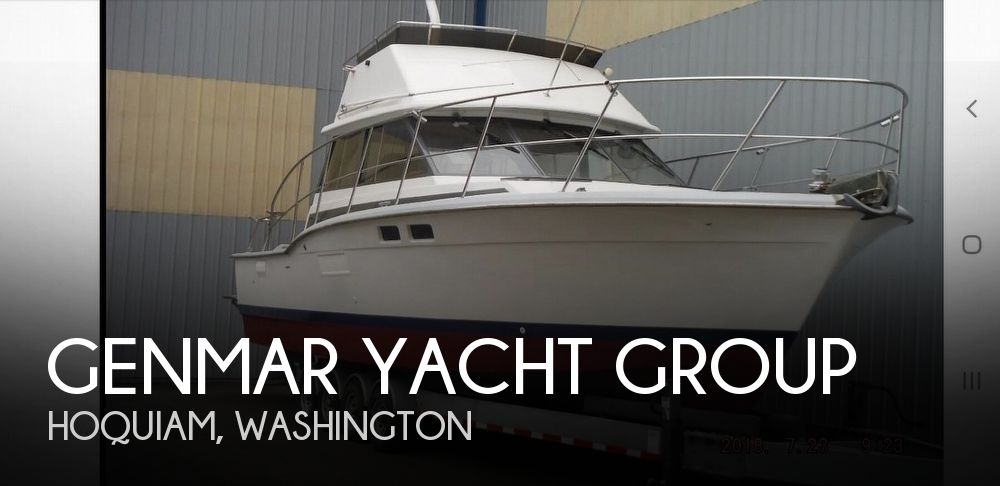 Used Fishing boats For Sale in Washington by owner | 1973 Genmar Yacht Group 36