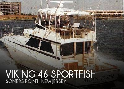 Used Viking Boats For Sale by owner | 1982 Viking 46 Sportfish