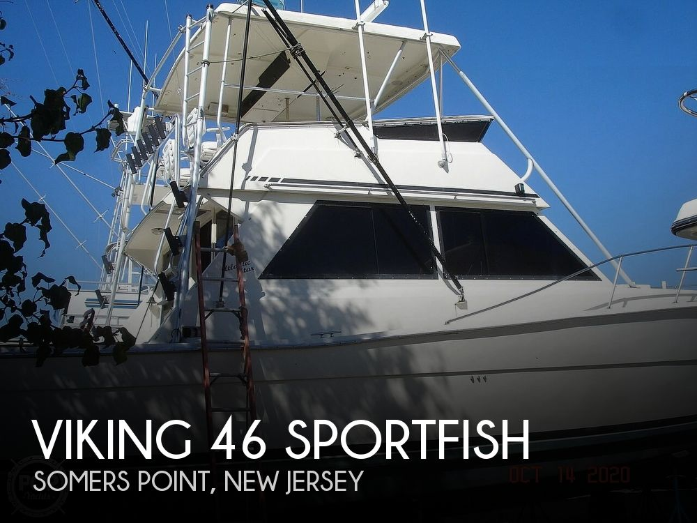 1982 Viking boat for sale, model of the boat is 46 Sportfish & Image # 1 of 40