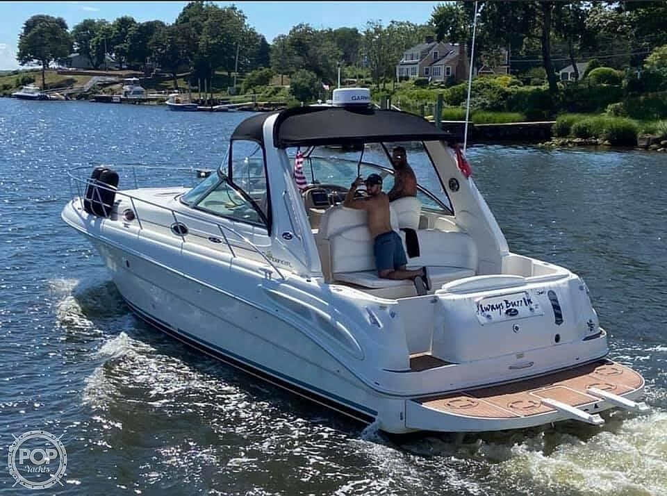 2001 Sea Ray boat for sale, model of the boat is 340 Sundancer & Image # 3 of 40