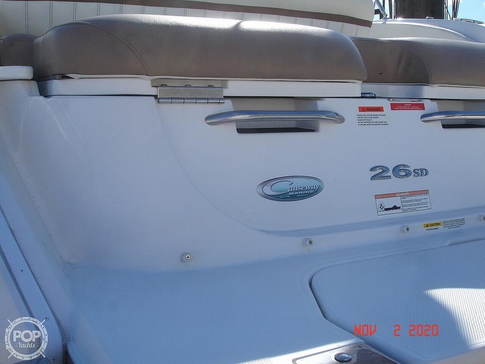 2014 Cobalt boat for sale, model of the boat is 26 Sport Deck & Image # 11 of 40