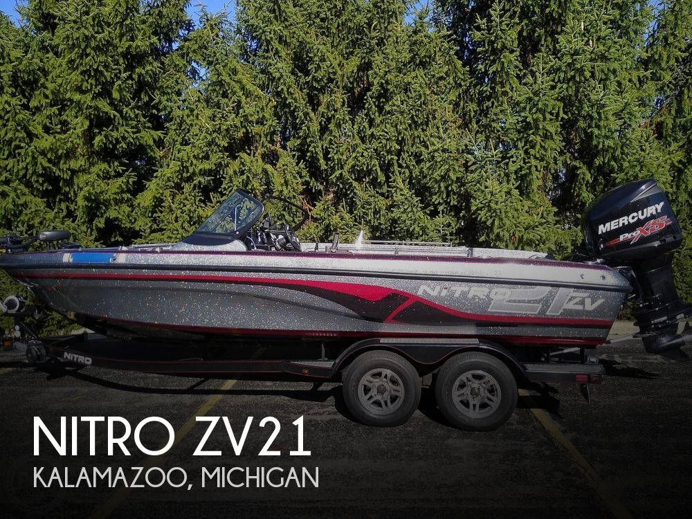 2014 Nitro boat for sale, model of the boat is ZV21 & Image # 1 of 40