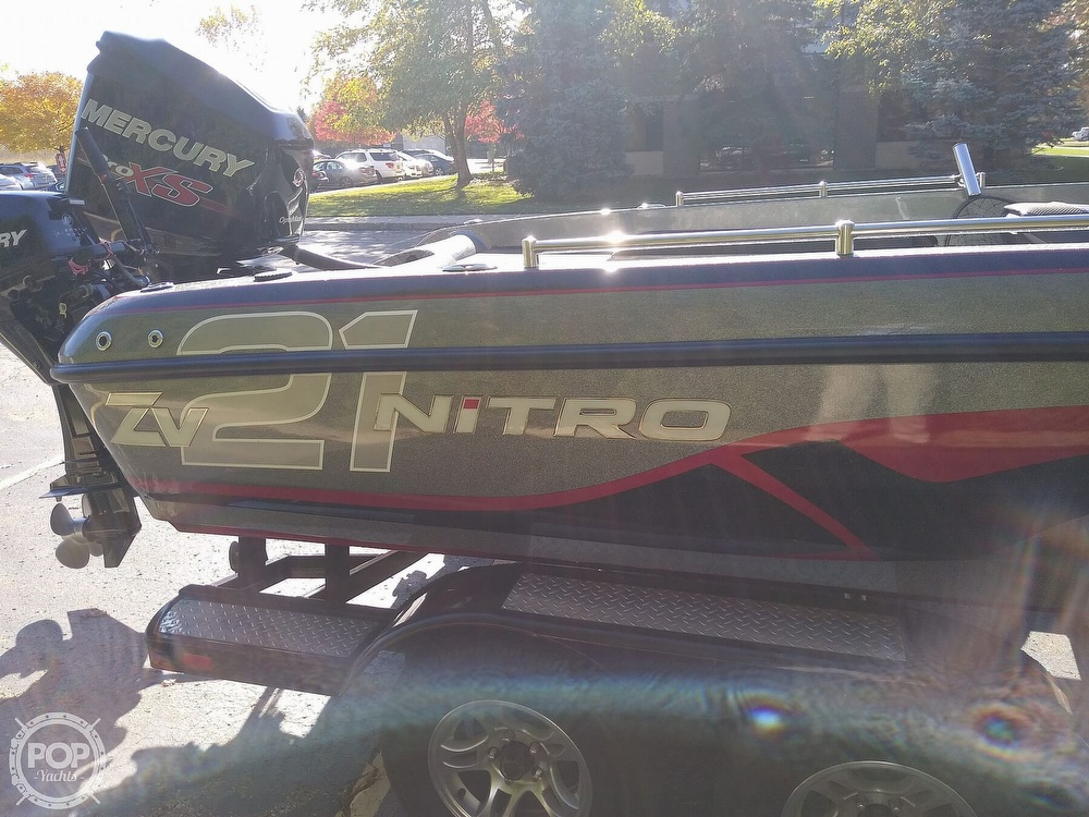2014 Nitro boat for sale, model of the boat is ZV21 & Image # 37 of 40