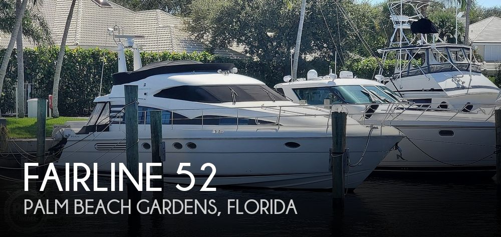 Used Fairline Boats For Sale by owner | 2001 Fairline 52 Squadron