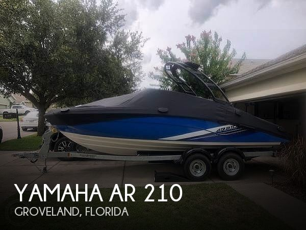 Used Yamaha Boats For Sale in Florida by owner | 2019 Yamaha AR 210