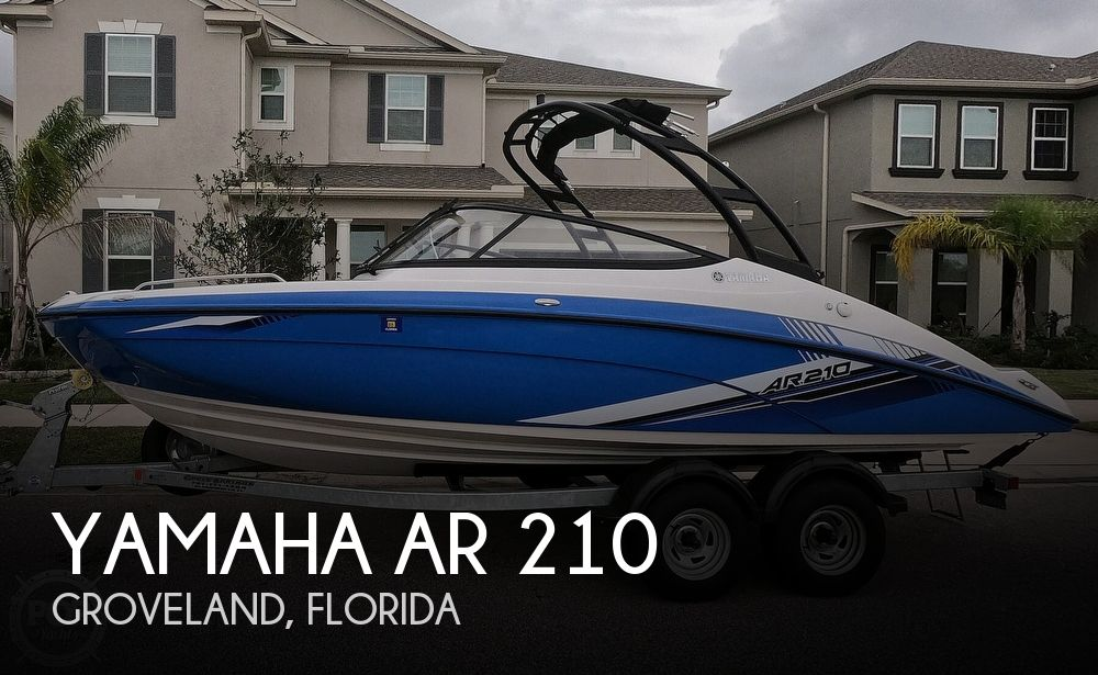 2019 Yamaha boat for sale, model of the boat is AR 210 & Image # 1 of 40