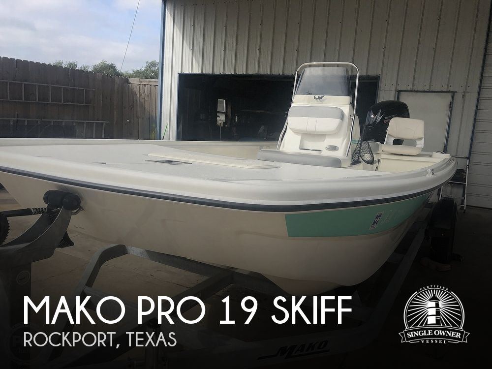2019 Mako boat for sale, model of the boat is PRO 19 SKIFF & Image # 1 of 41