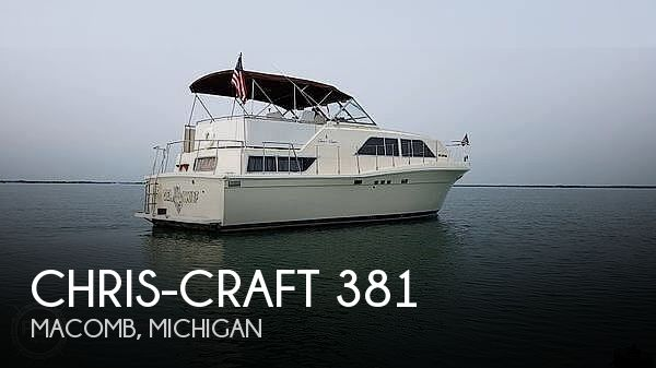 Used Chris-Craft Boats For Sale in Michigan by owner | 1987 Chris-Craft Catalina 381