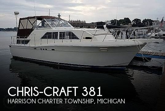1987 Chris Craft boat for sale, model of the boat is Catalina 381 & Image # 1 of 40
