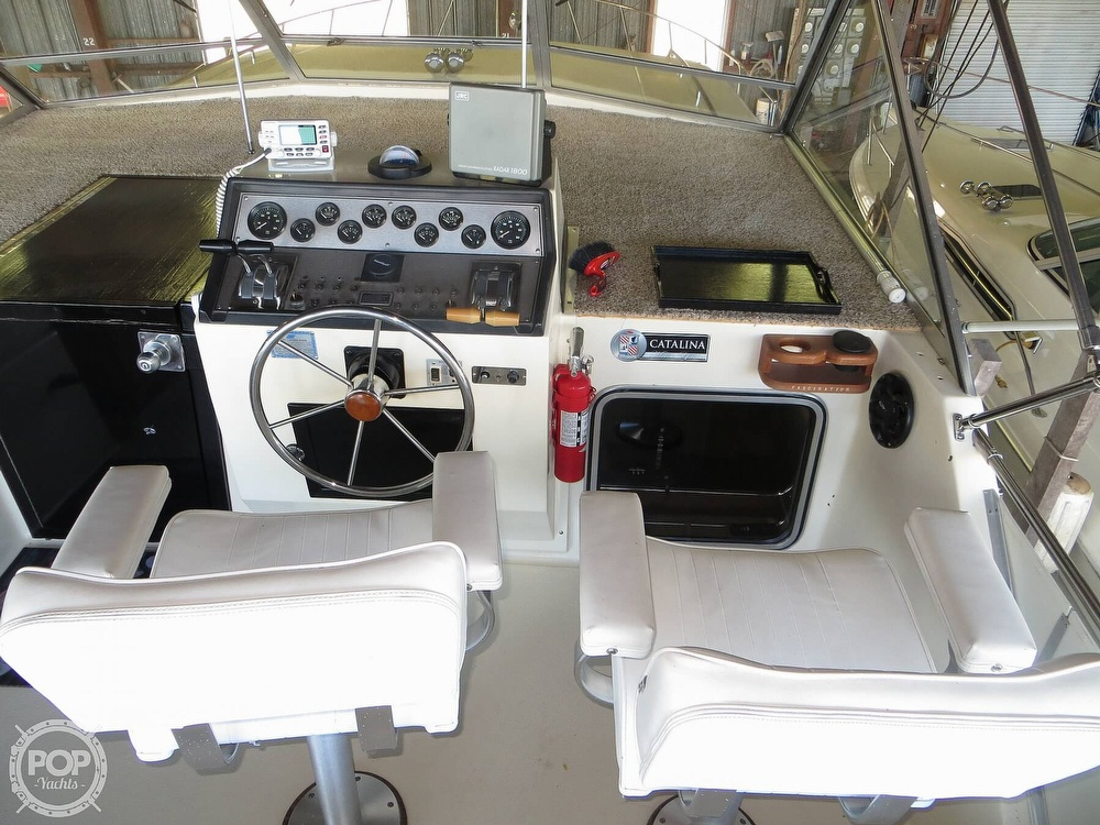 1987 Chris Craft boat for sale, model of the boat is Catalina 381 & Image # 5 of 40