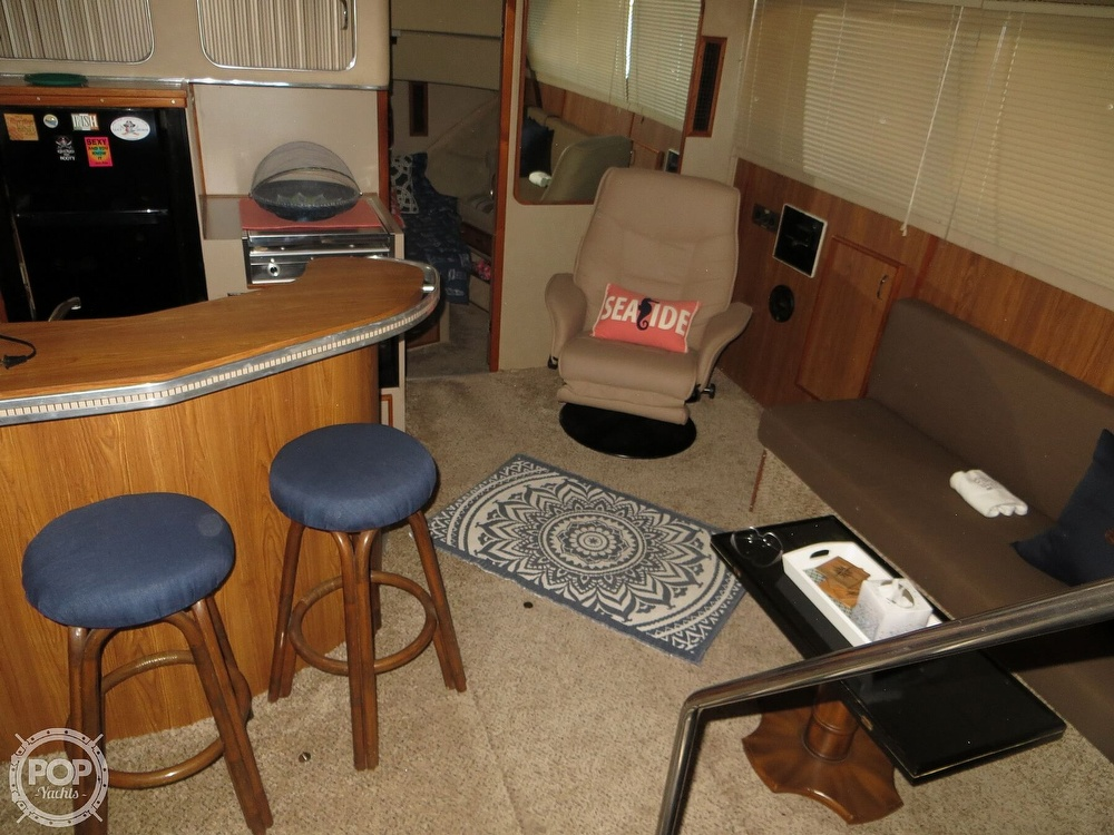 1987 Chris Craft boat for sale, model of the boat is Catalina 381 & Image # 6 of 40