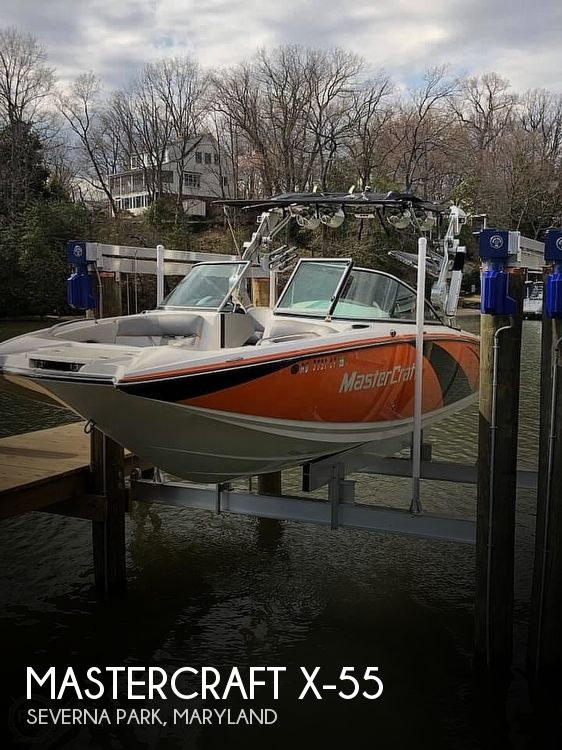 2012 Mastercraft boat for sale, model of the boat is x55 & Image # 1 of 10