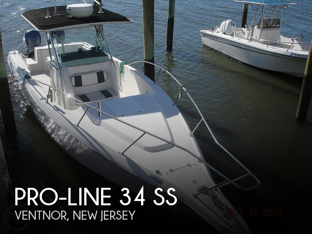1998 Pro-Line boat for sale, model of the boat is 34 SS & Image # 1 of 40