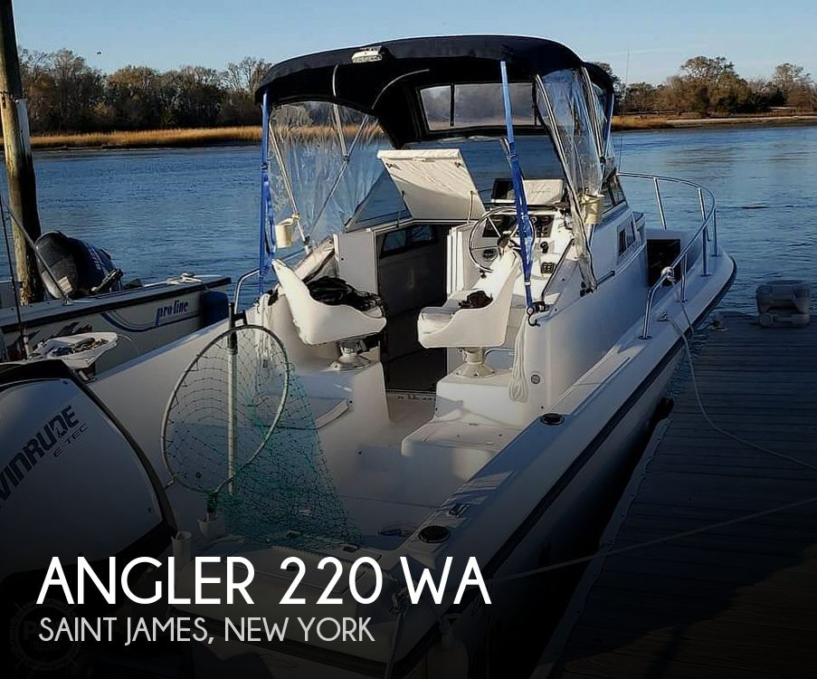 1998 American Angler boat for sale, model of the boat is 220 WA & Image # 1 of 6