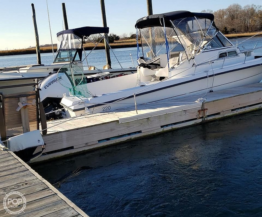1998 American Angler boat for sale, model of the boat is 220 WA & Image # 2 of 6