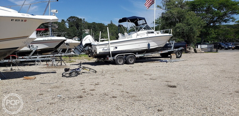 1998 American Angler boat for sale, model of the boat is 220 WA & Image # 4 of 6