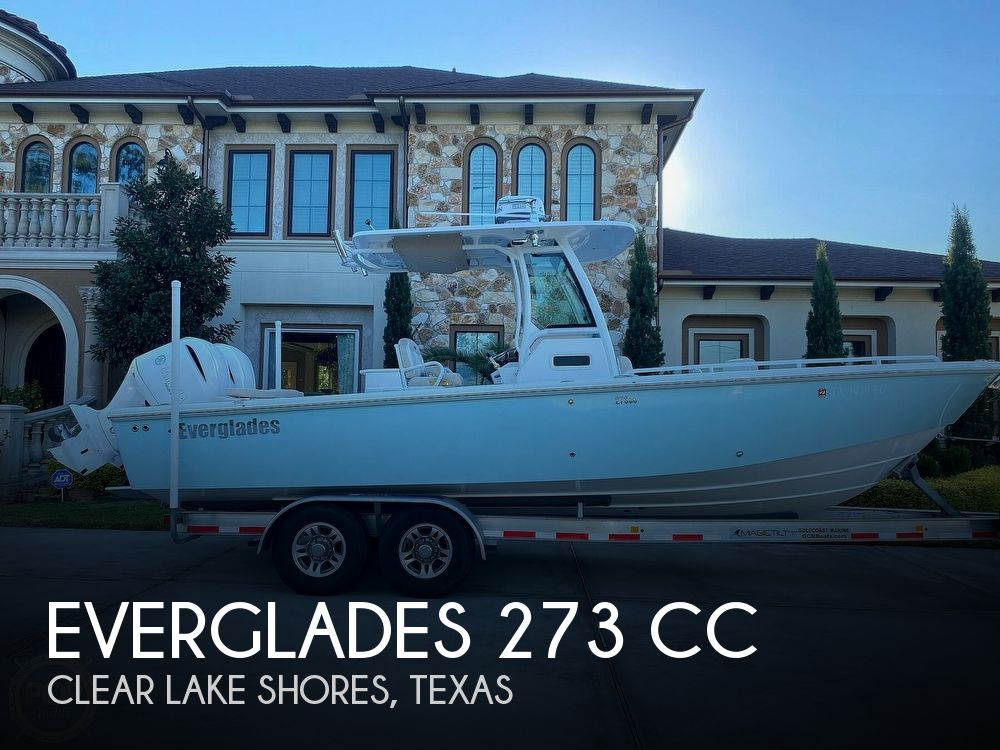 Used Power boats For Sale in Texas by owner | 2018 Everglades 273 CC