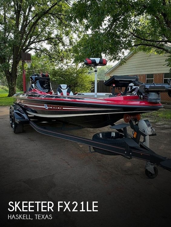 Used Skeeter Boats For Sale in Texas by owner | 2019 Skeeter FX21LE
