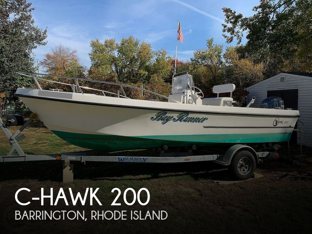 2001 C-Hawk boat for sale, model of the boat is 21 & Image # 1 of 40
