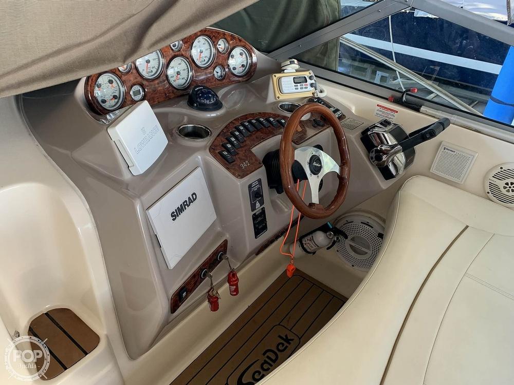2004 Rinker boat for sale, model of the boat is 342 Fiesta Vee & Image # 10 of 41