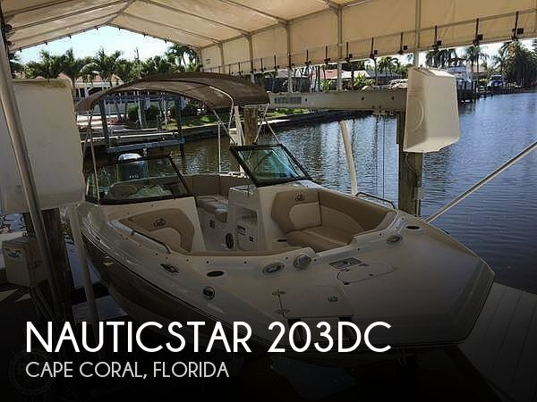 2017 Nautic Star boat for sale, model of the boat is 203DC & Image # 1 of 41