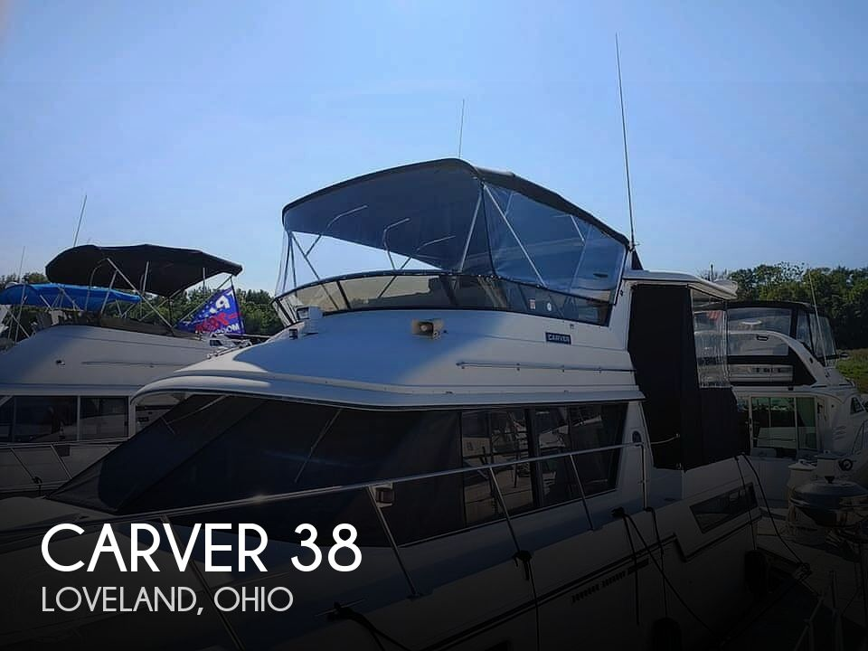 Used Carver Boats For Sale in Ohio by owner | 1988 Carver 38