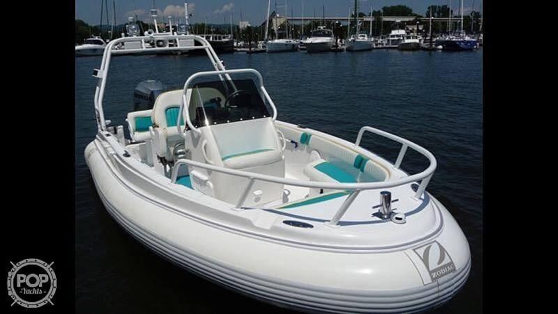 2005 Zodiac boat for sale, model of the boat is Eclipse 17 & Image # 9 of 16