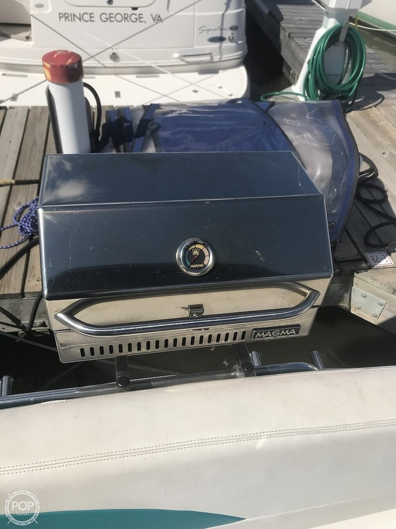 1996 Silverton boat for sale, model of the boat is 271 Express & Image # 17 of 41