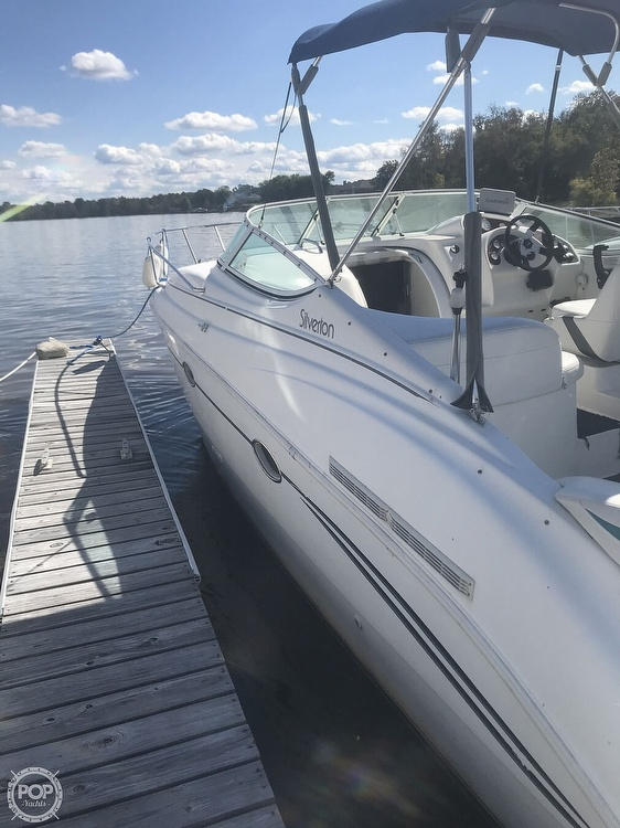 1996 Silverton boat for sale, model of the boat is 271 Express & Image # 25 of 41