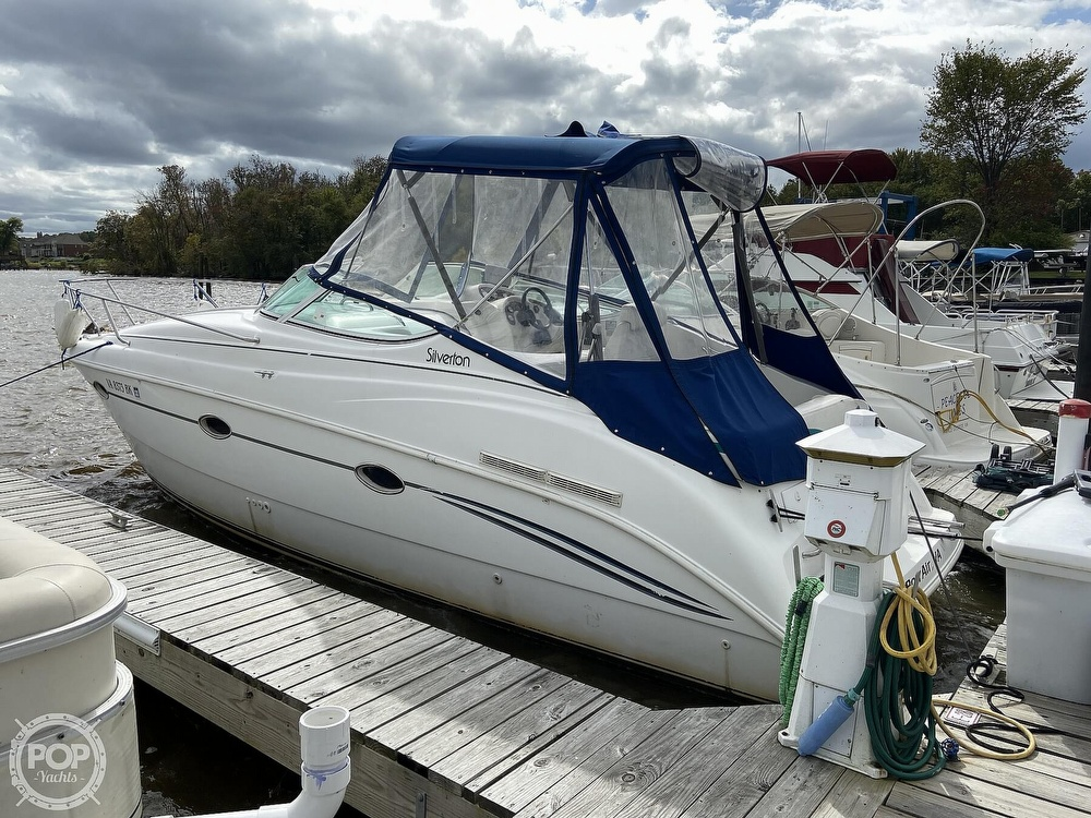 1996 Silverton boat for sale, model of the boat is 271 Express & Image # 20 of 40
