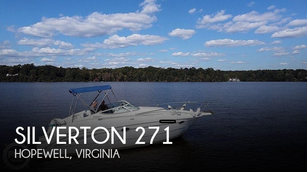 1996 Silverton boat for sale, model of the boat is 271 Express & Image # 1 of 40