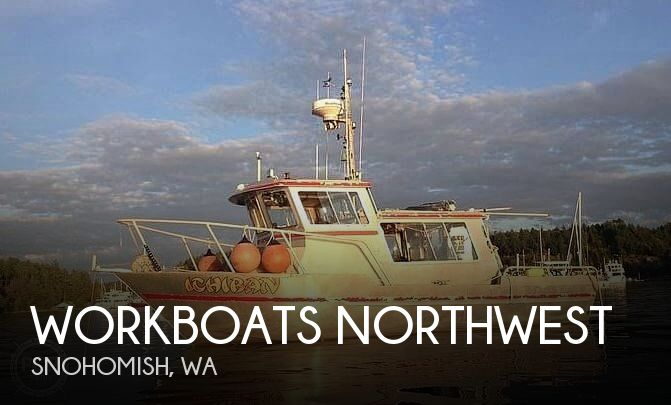 Used Boats For Sale in Washington by owner | 1988 Workboats Northwest 29